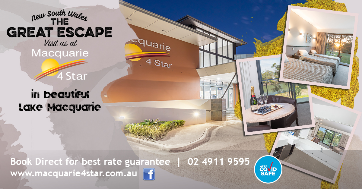 GREAT ESCAPE AT MAC4STAR